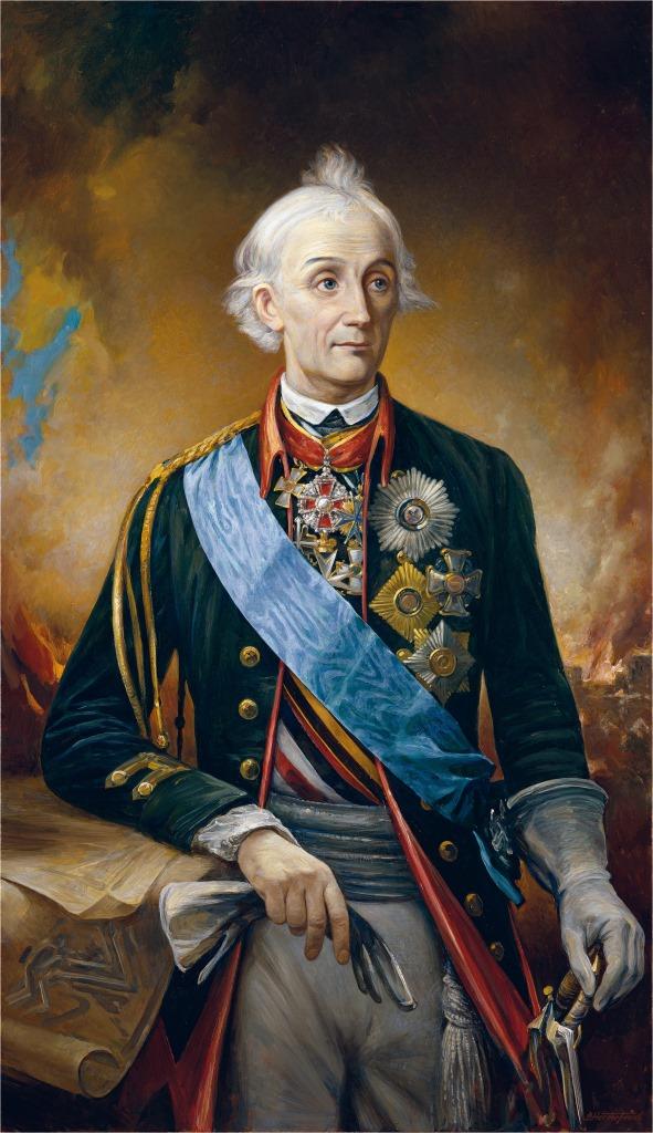 Портрет Генералиссимуса графа А. В. Суворова-Рымникского, князь Италийский