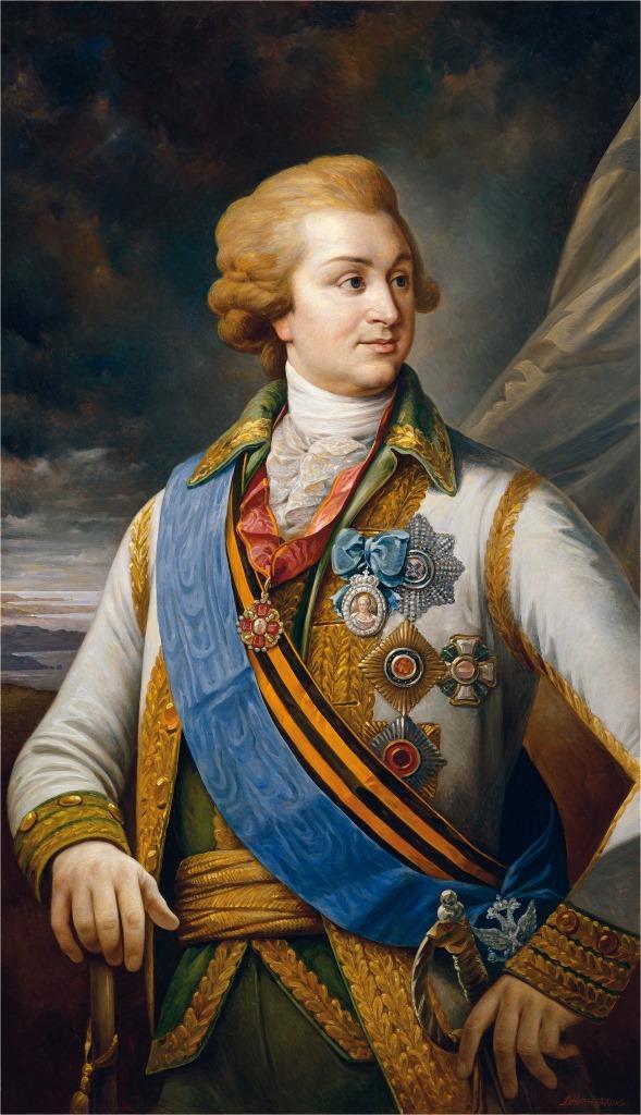 Портрет Генерал-фельдмаршала светлейшего князя Г. А. Потемкина-Таврического